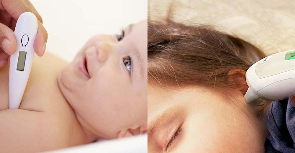 Misurazione febbre nei bambini